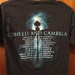 coheed and cambria Shirts - COHEED AND CAMBRIA T-SHIRT - Rock Concert Tour Tee